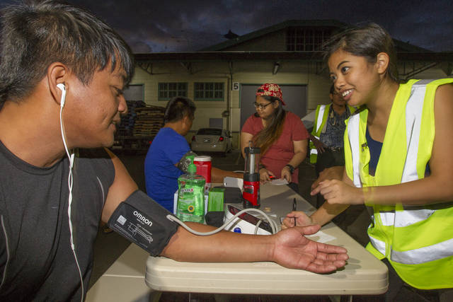 Hawaiian Students, Volunteers Fill Health, Religious Needs for Foreign Fishermen