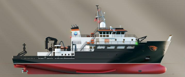 OSU Inks Largest Research Grant in History for Research Vessel