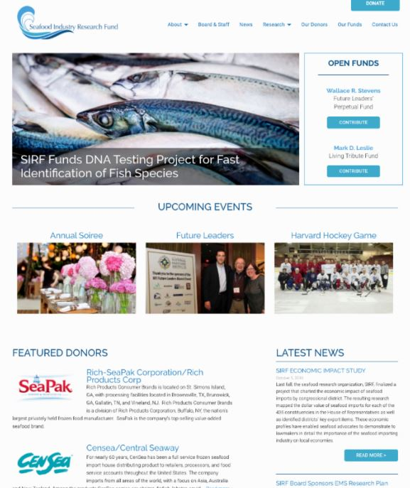 New Seafood Industry Research Fund Website Gives Users Access To Archived Projects, Research Updates