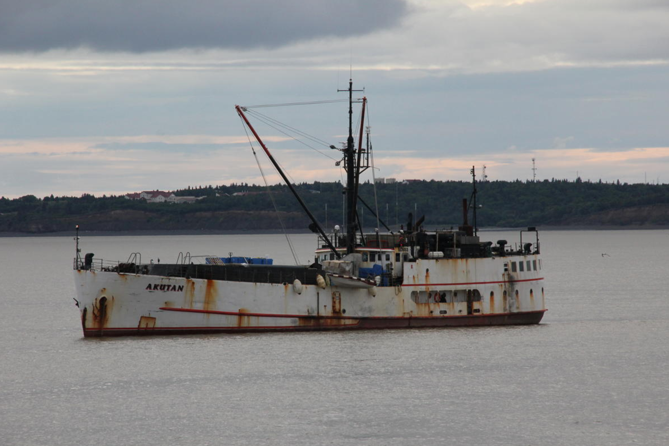 A Group of Fishermens Effort to Bring F/V Akutan Processing Barge to Bristol Bay Ends in Disaster