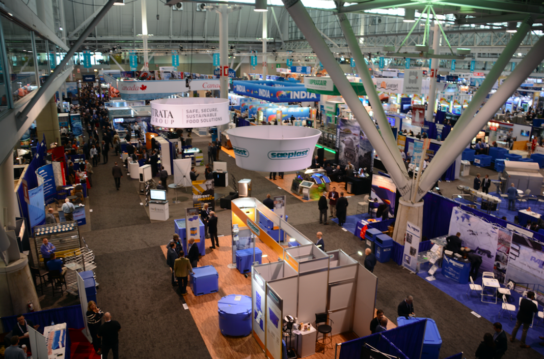 Photos From Day 1 of Seafood Expo North America; Major Snow Storm May Scramble Plans