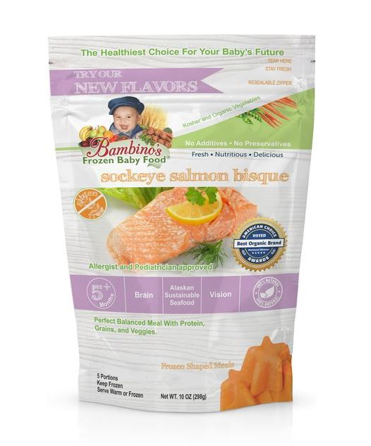 Alaskas Bambinos Baby Food Company Offering Seafood Option