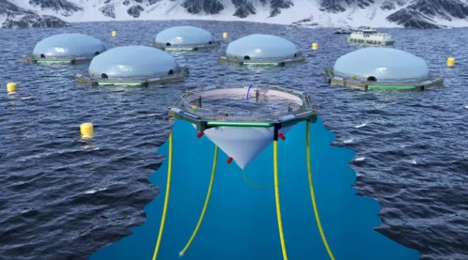 Cermaq Developing FlexiFarm, A Floating Closed Containment System