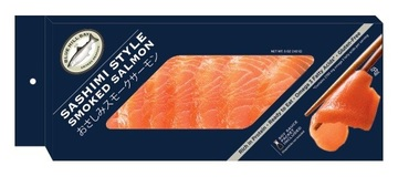 Acme Smoked Fish Adds Sashimi Style Smoked Salmon to Blue Hill Bay Brand