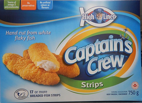 High Liner Recalls Captains Crew Fish Strips for Undeclared Allergen