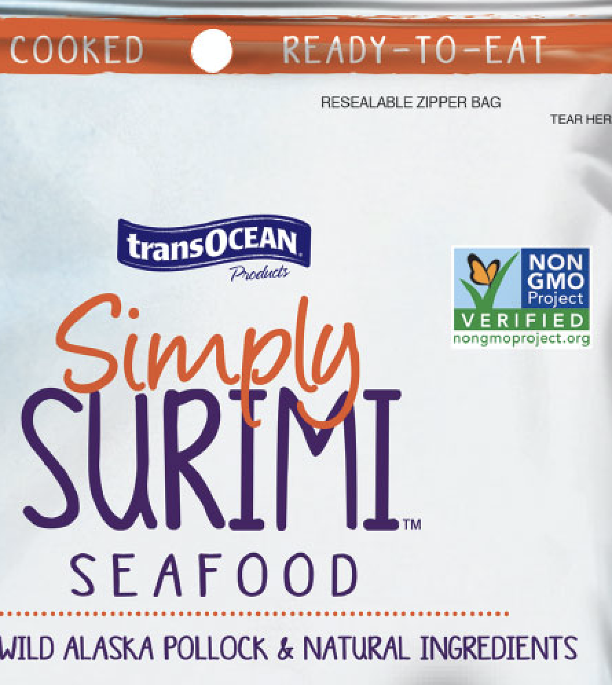 Trans-Ocean to Market Simply Surimi as Major Non-GMO Verified Brand to Natural Foods Customers