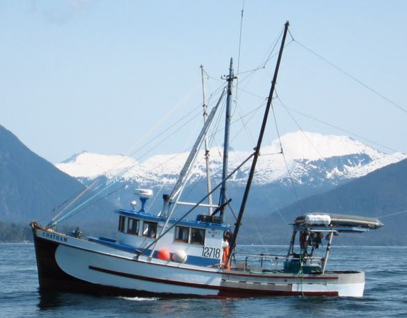 Most Alaska Fishing Boats Are In Southeast; Most Fishermen In Central Region