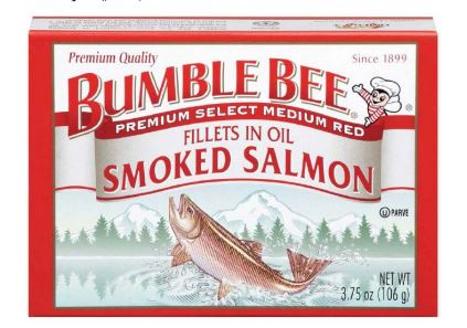 Bumble Bee Settles Class Action Lawsuit Over Smoked Salmon Product
