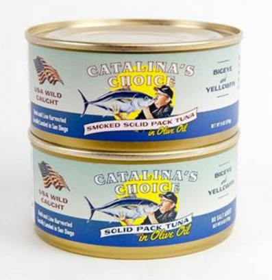 San Diegos Catalina Offshore Products Launches Domestically Caught Hook and Line Canned Tuna
