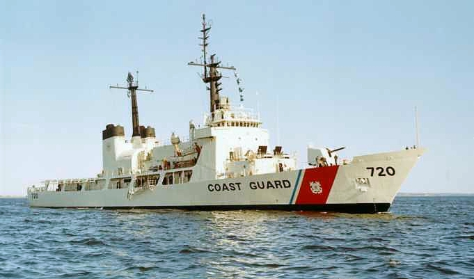Coast Guard Sinks Abandoned North Pacific Fishing Vessel