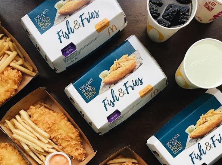 McDonald's Malaysia Reportedly Introduces Fish Fillet and Fries