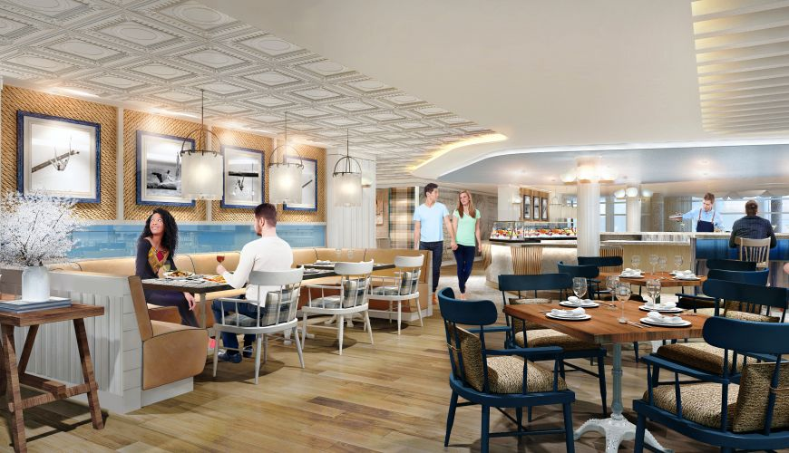 Royal Caribbean Debuts Line's First Dedicated Seafood Restaurant on Symphony of the Seas