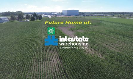 Interstate Warehouse Building New Cold Storage Facility in Anderson, Indiana