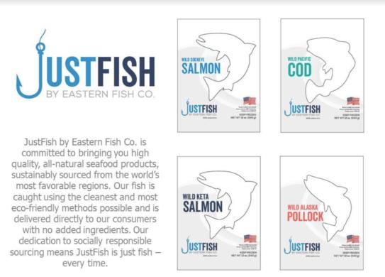 Marubeni Launching JustFish, Will Push New Retail Brand at Boston Seafood Show