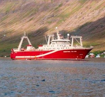 Iceland's Samherji Sells Vessel Kristina EA to Russian Fishing Ships Operator