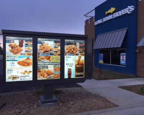 Long John Silvers Upgrading Drive-Thrus With Advanced Digital Technology