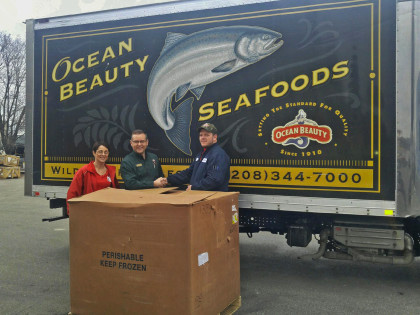 Ocean Beauty Moving Processing Out of Ballard