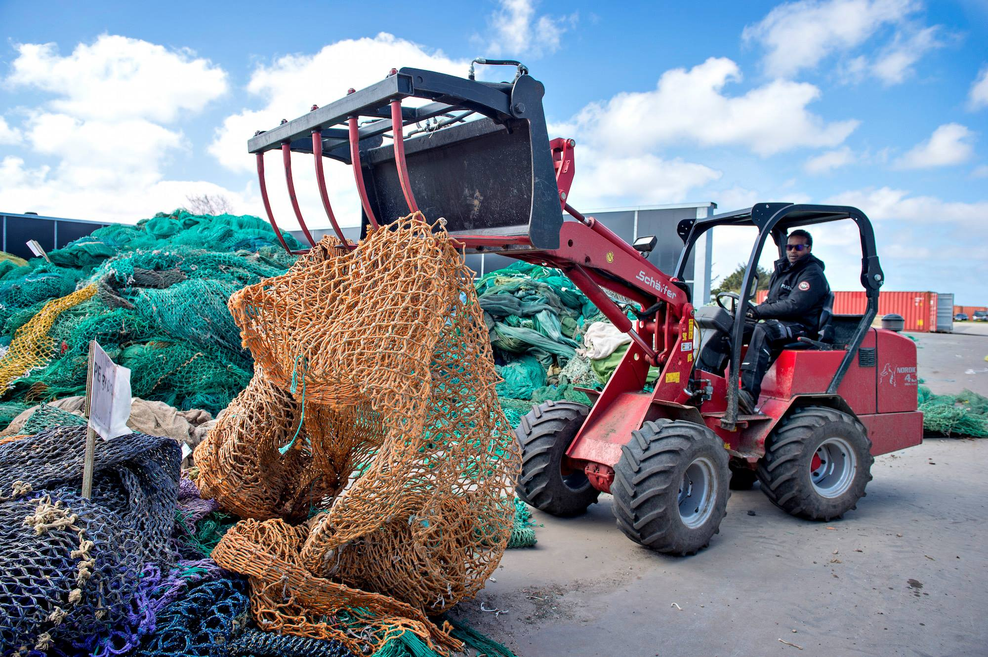 Old Dutch Harbor Nets Sent to Denmark for Recycling