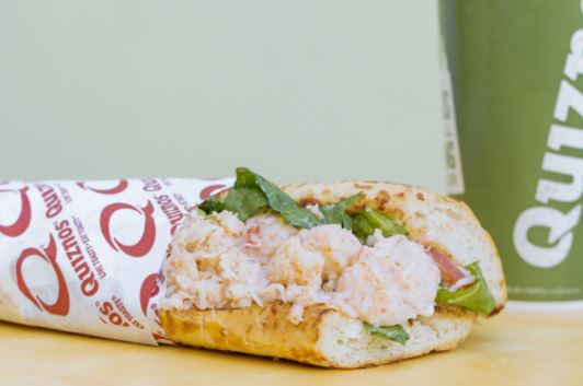 Quiznos to Offer Free Lobster and Seafood Sub for Loyalty Members Starting Valentines Day