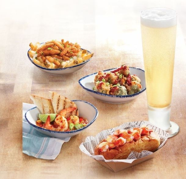 Red Lobster Launches New, Smaller Tasting Plates and Globally-Inspired Entrées