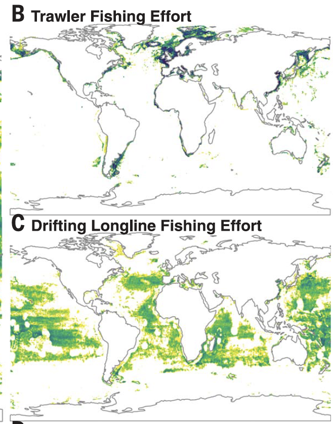 Media Fails Again on Fisheries Data; New Maps Dont Show Intensification of Fishing – Hilborn