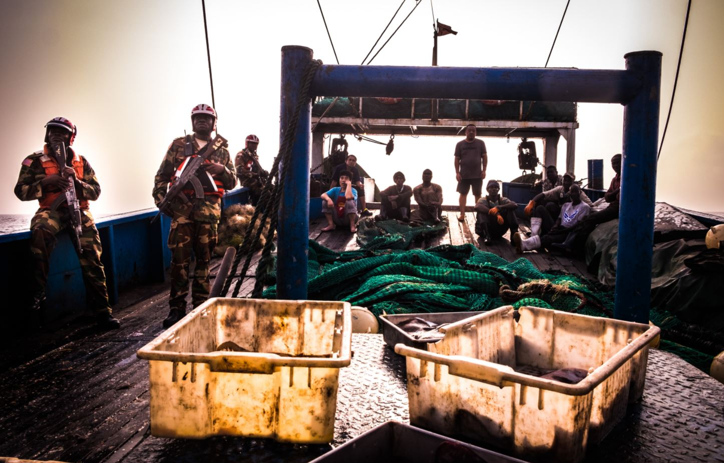 Chinese-Flagged Illegal Fishing Vessel Arrested by Liberian Coast Guard and Sea Shepherd