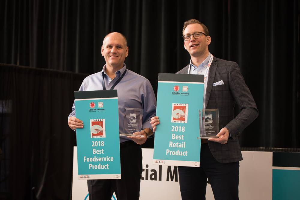 Seafood Excellence Awards Winners Announced at Seafood Expo North America 2018