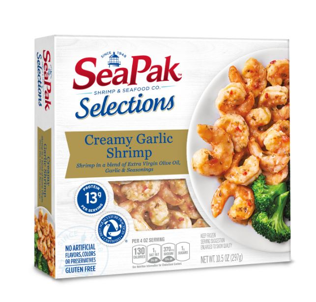SeaPak Introduces New Selections Line for Healthier, More Convenient Meals