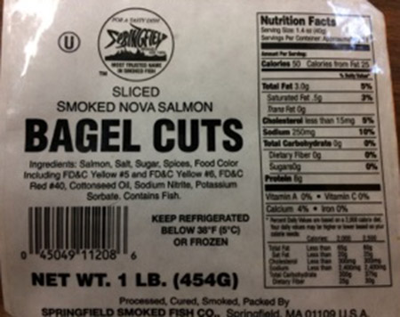 Springfield Smoked Fish Expands Recall Due to Potential Listeria Monocytogenes Contamination