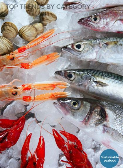 NRAs Hot Trend Predictions for 2018; Sustainable Seafood Rounds Out Top Five