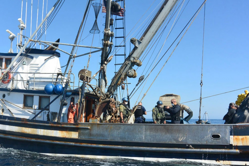 USCG Cutter Alert Completes Marine Resource Patrol; Some Violations Questioned