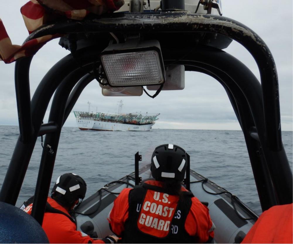 Coast Guard Patrols North Pacific to Protect International Fisheries