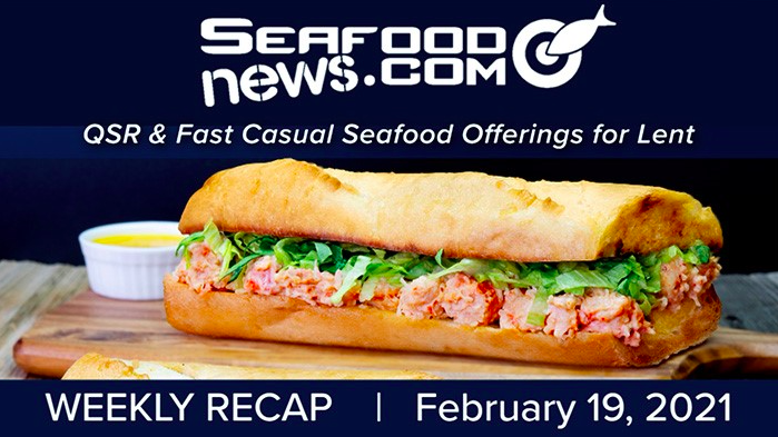 VIDEO: QSR & Fast Casual Seafood Offerings for Lent: White Castle, Bojangles, Quiznos and Popeyes