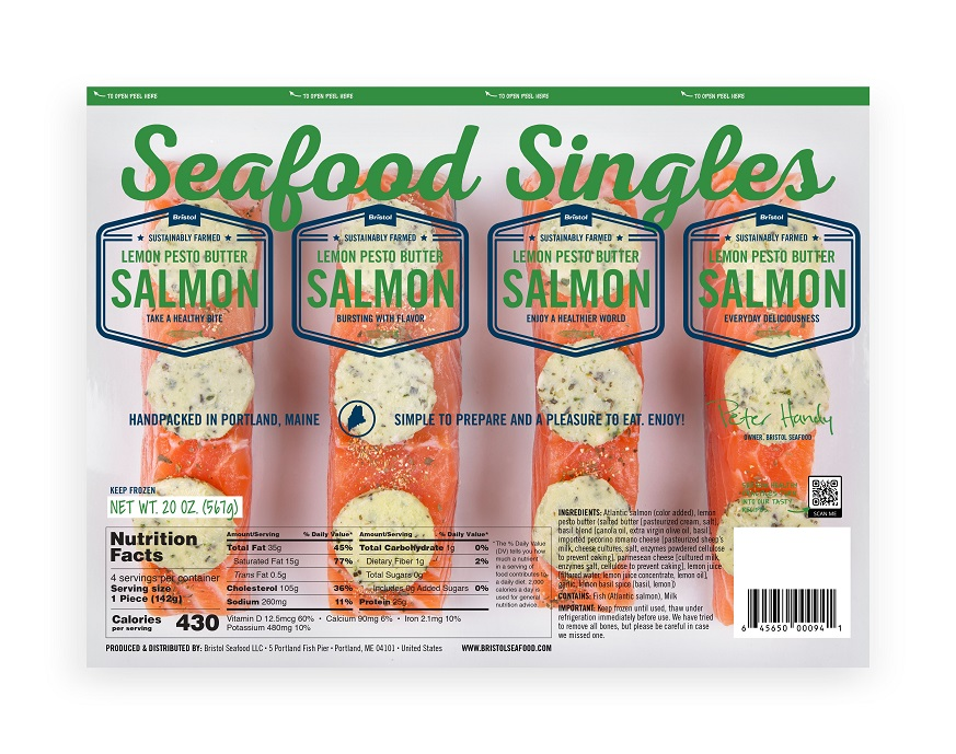 Bristol Seafood Releases Seafood Singles Range; Adding More Retail Options