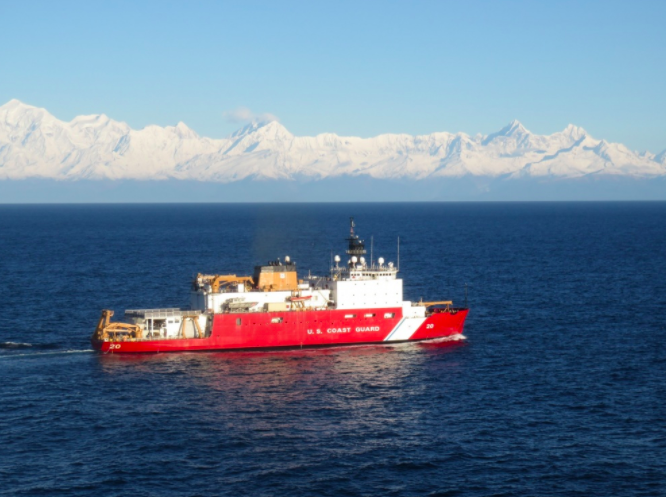 Coast Guard Icebreaker Healy Departs For Arctic and to Circumnavigate North America