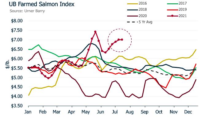 ANALYSIS: Farmed Salmon Market Off Trend