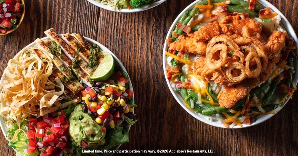 Applebee's Launches New Shrimp Irresist-A-Bowls