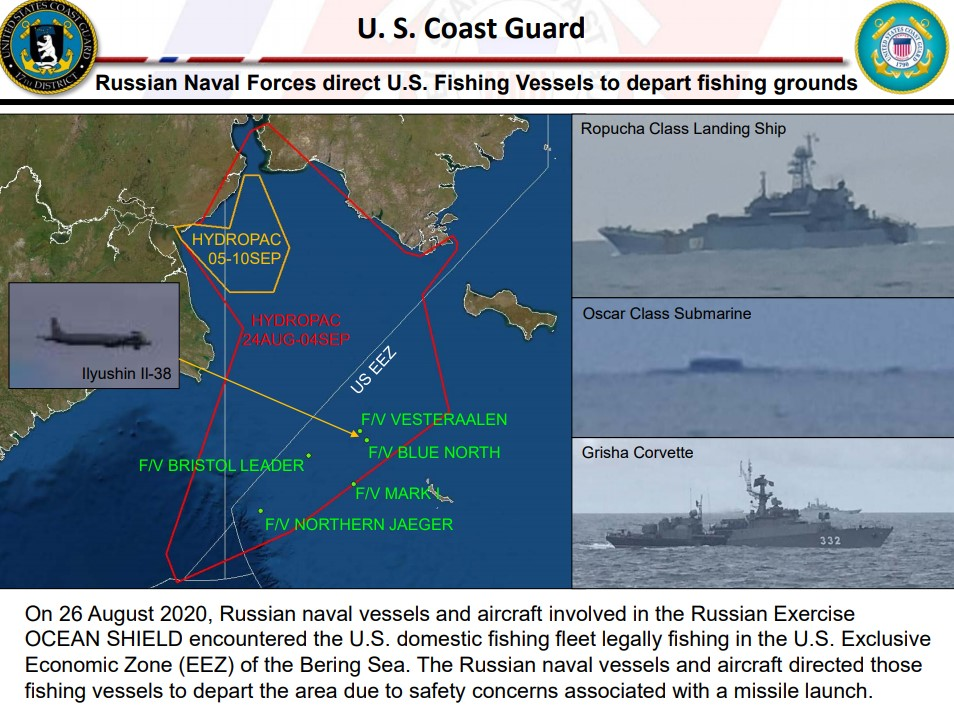 "APA: U.S. Military Protection ""Non-Negotiable"" After Russian Aggression Towards Pollock Fleet"
