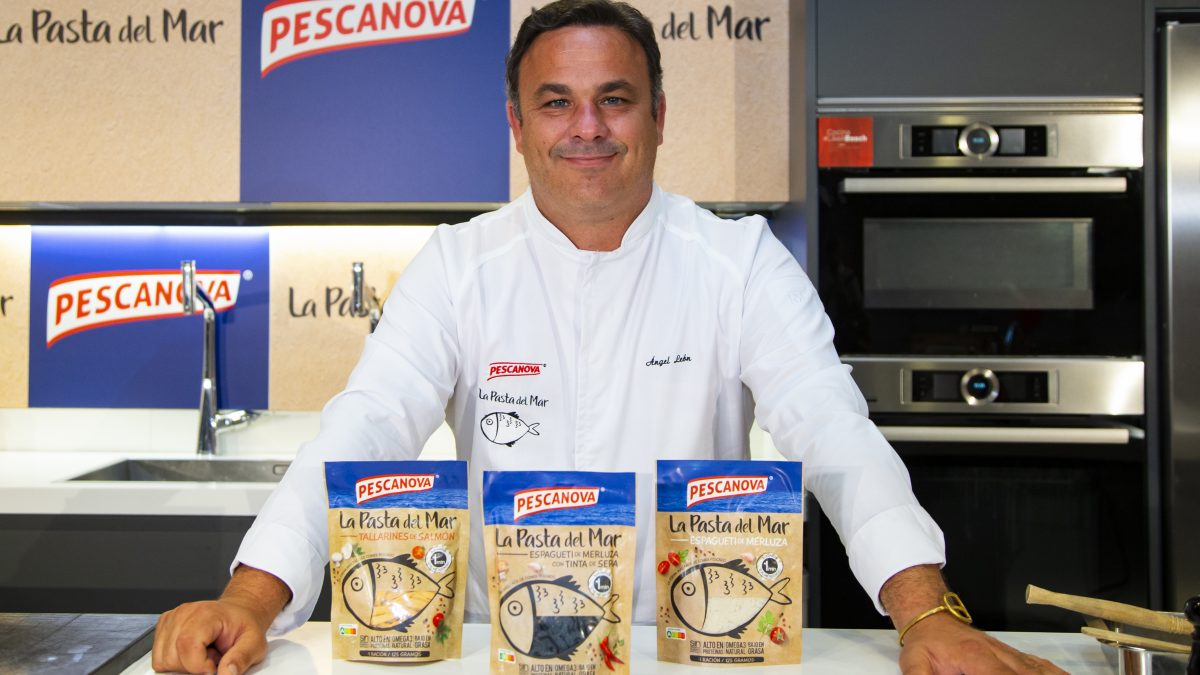 "Pescanova Debuts ""La Pasta del Mar"" Product with Help from Spanish Chef Ángel León"