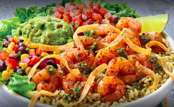 Applebee's Brings Back Tex-Mex Shrimp Bowl As They Begin to Reopen Dining Rooms