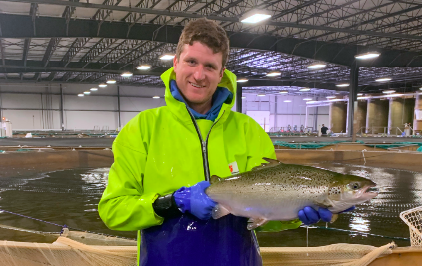 AquaBounty Begins Commercial Harvest of Atlantic Salmon Raised in Indiana