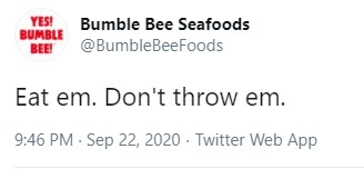 Bumble Bee Responds After Trumps Comments About Throwing Tuna