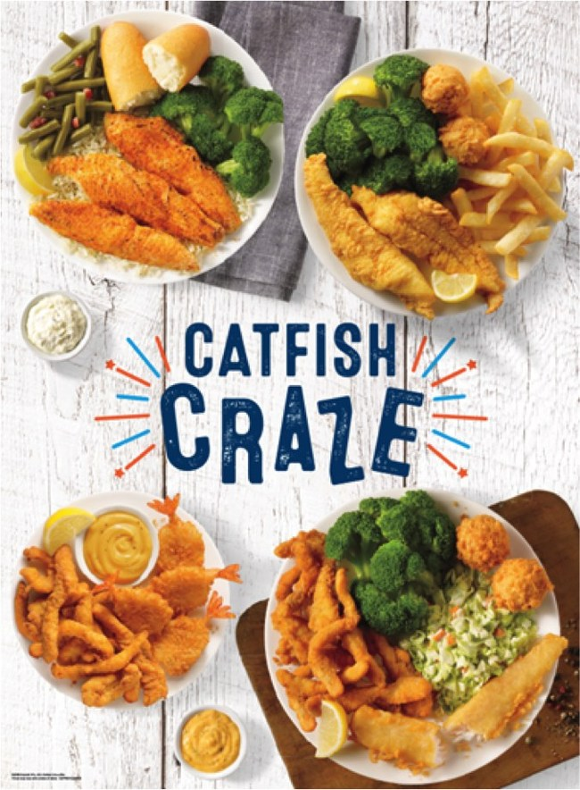 Catfish Craze Comes to Captain Ds Restaurants With a Delicious, Craveable Variety of Catfish Meals