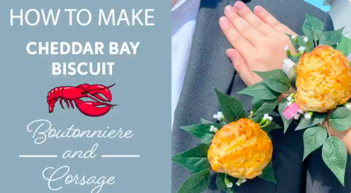 Red Lobster is Taking Prom to the Next Level With Cheddar Bay Biscuit Corsages