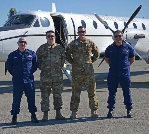 Three U.S. Military Branches Partner in Bristol Bay to Support Salmon Fleet for a Safe Season Ahead