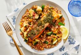 Blue Apron Partnership With Food Network Star Amanda Freitag Introduces New Salmon, Shrimp Recipes