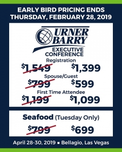 Urner Barry's April 2019 Seafood Import Workshop: Last Day For Early Bird Pricing!
