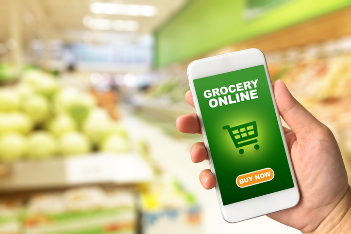 The Online Grocery Market Nearly Tripled in 2020