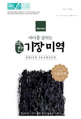 Worlds First ASC-MSC Certified Seaweed Products Go on Sale in Korea