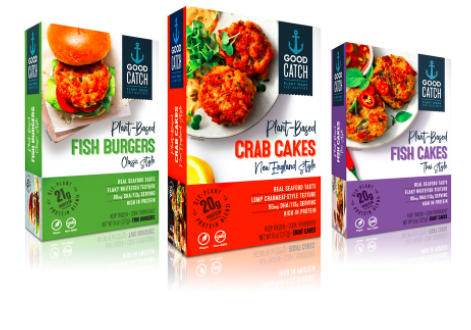 Vegan Seafood Brand Good Catch Launches New Frozen Fish-Free Entrees, Appetizers
